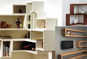 Different types of wall shelves for your home
